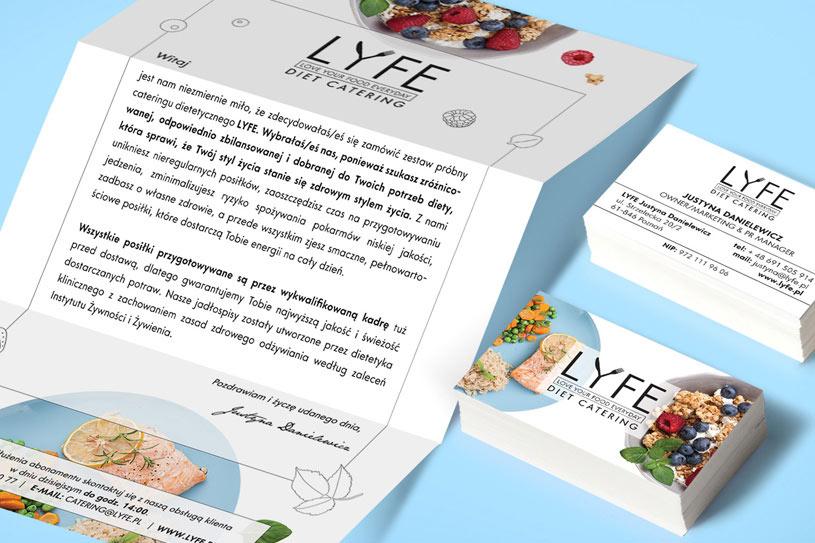 LYFE - identyfikacja wizualna