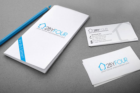 2ByFour - projekt logo