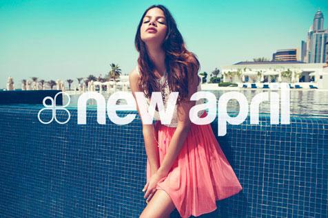 New April - projekt newslettera #1