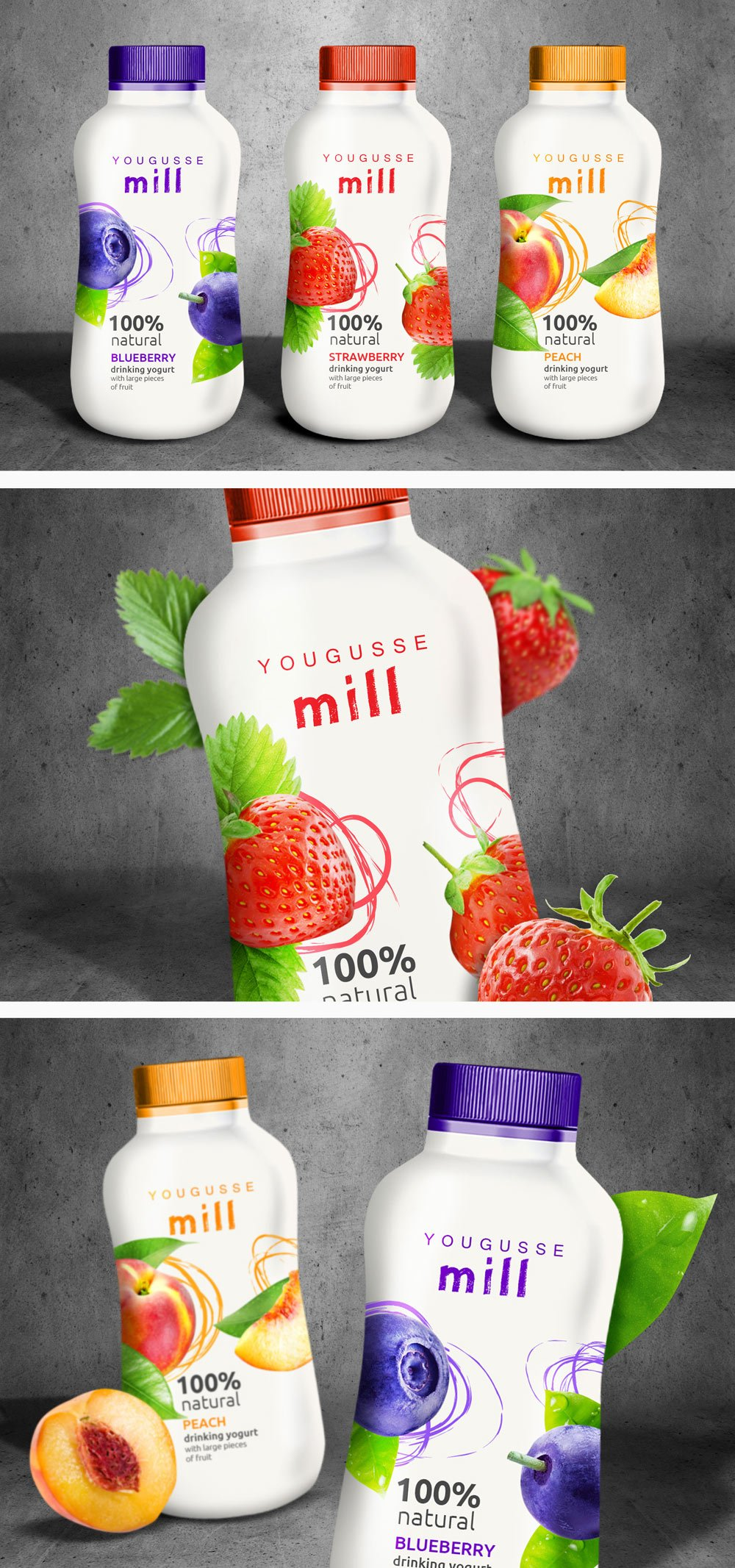 Packaging Jogurt Yougusse