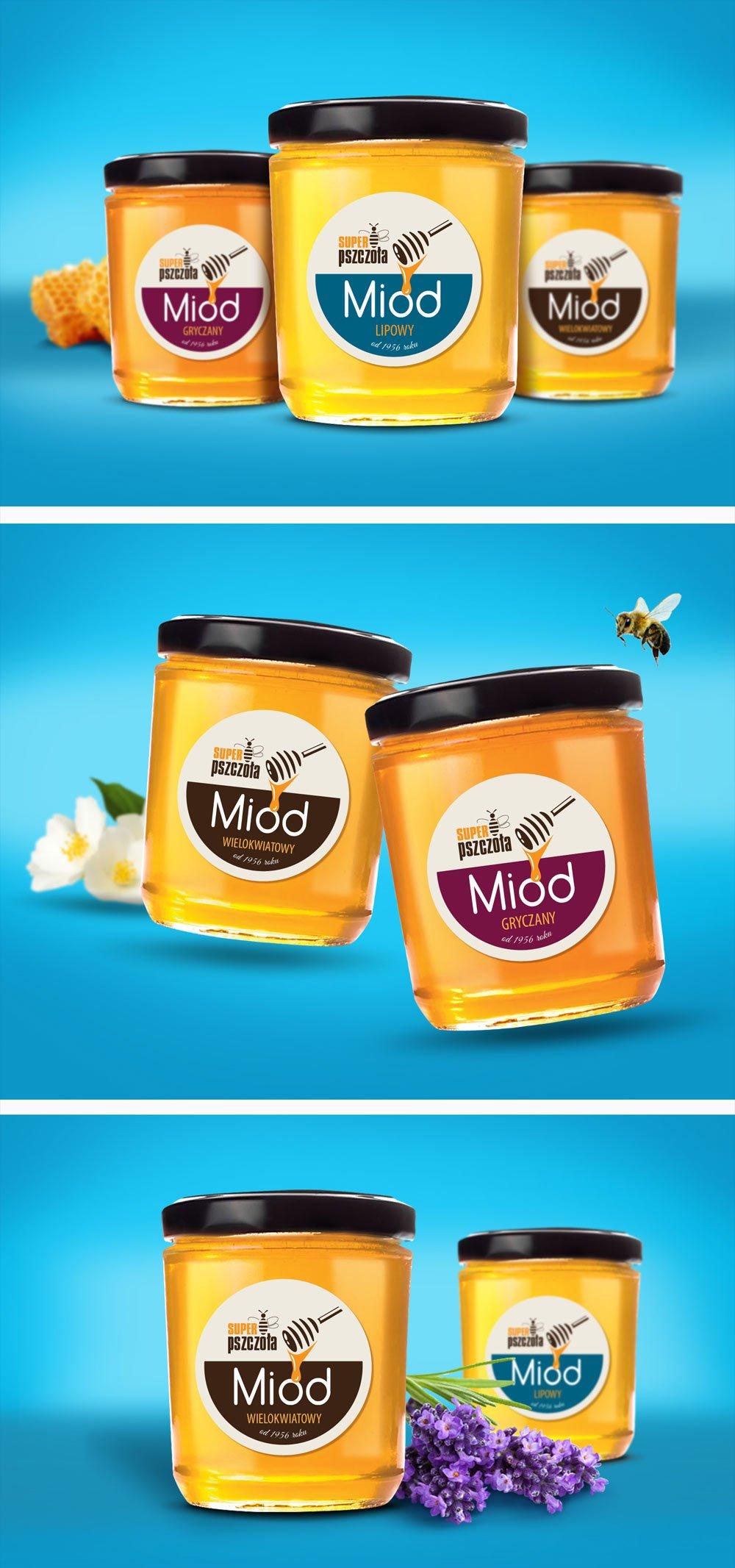 Packaging Miód Super Pszczoła