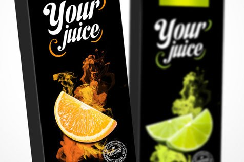 Your Juice - projekt opakowań na soki
