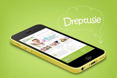 Przedszkole Dreptusie - projekt strony www