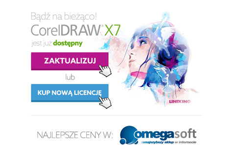 Corel X7 - projekt newslettera