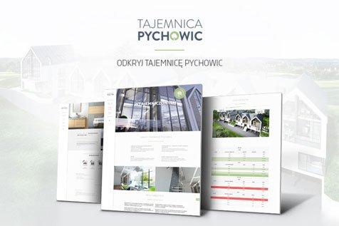 TAJEMNICA PYCHOWIC - projekt strony internetowej