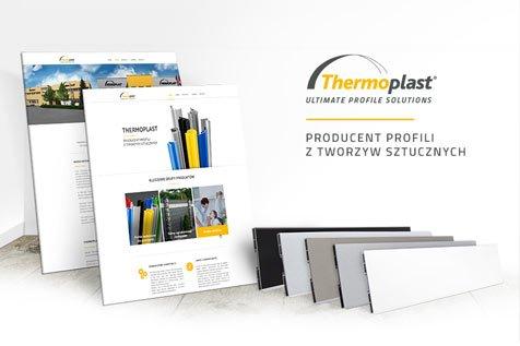 Thermoplast - projekt strony internetowej