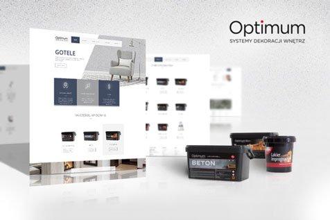 Gotele - optimum - projekt strony interentowej