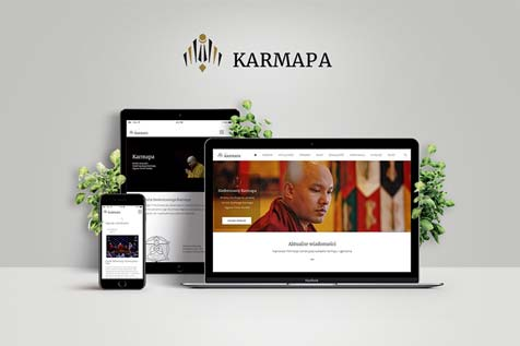17 Karmapa  - website design