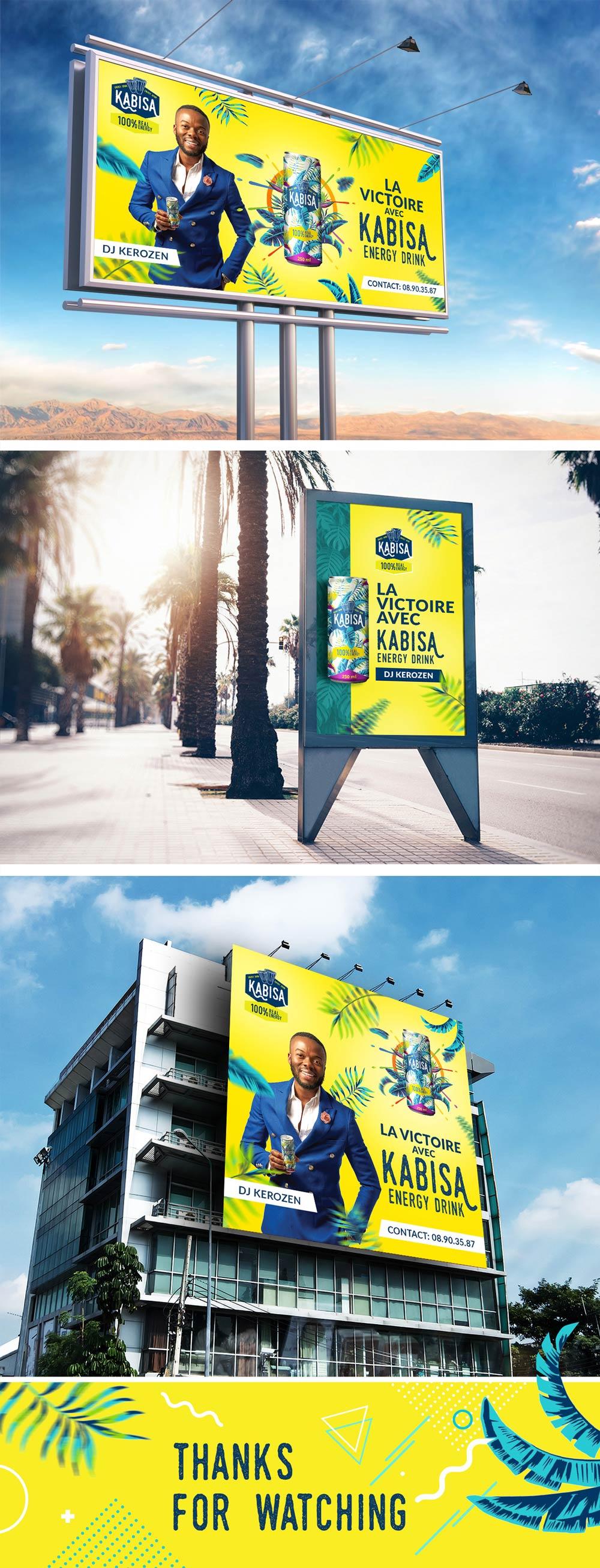 kabisa - projekt billboardu