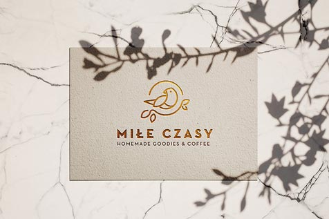 Miłe czasy - logo design, business card